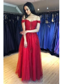 A-Line Beaded Lace Long Prom Dresses Formal Evening Gowns 995011635