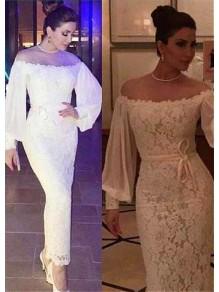 Memraid Lace Long Sleeves Long Prom Dresses Formal Evening Dresses 99501217