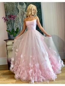 Affordable Long Pink Prom Dresses Formal Evening Dresses 99501372