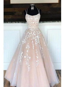 Elegant Lace Appliques Long Prom Dresses Formal Evening Dresses 99501374