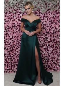 A-Line Off-the-Shoulder Long Prom Dress Formal Evening Dresses 99501420
