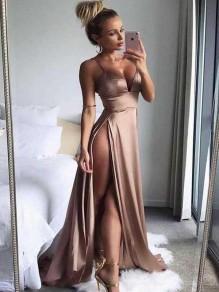 Sexy High Slits Long Prom Dress Formal Evening Dresses 99501572