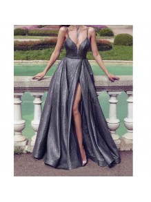 A-Line Sparkle Long Prom Dress Formal Evening Dresses 99501581