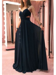 A-Line Chiffon Long Prom Dress Formal Evening Dresses 99501811