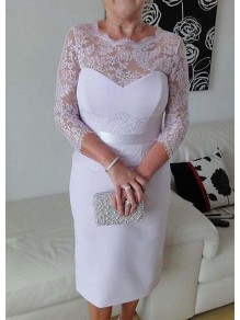 Short Lace Mother of The Bride Dresses 99503069