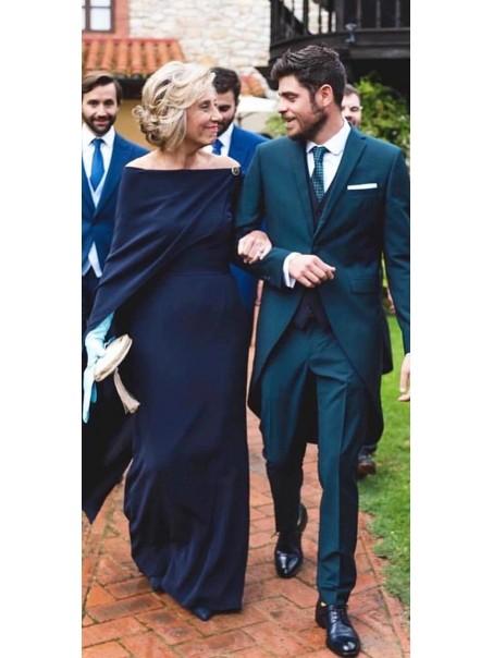 Elegant Off-the-Shoulder Long Mother of the Bride Dresses 99503106