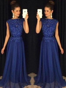 A-Line Beaded Lace Appliques Mother of the Bride Dresses 99503113