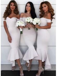 Mermaid Off-the-Shoulder Bridesmaid Dresses 99601313