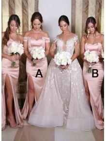 Mermaid Long Bridesmaid Dresses 99601340