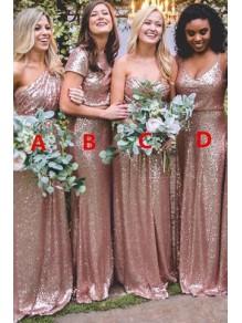 Long Sequins Bridesmaid Dresses 99601351
