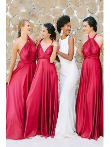 A-Line Long Bridesmaid Dresses 99601385