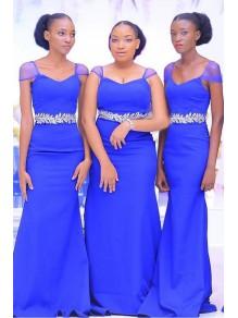 Mermaid Long Bridesmaid Dresses 99601393