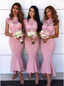 Mermaid Lace Bridesmaid Dresses 99601404