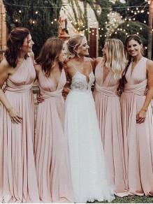 A-Line Long Bridesmaid Dresses 99601406