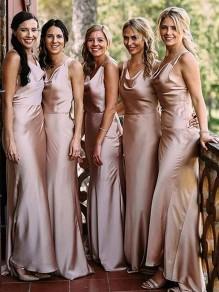 Mermaid Floor Length Bridesmaid Dresses 99601439