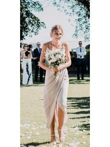 Simple Spaghetti Straps Floor Length Bridesmaid Dresses 99601449