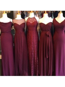 Affordable Long Floor Length Bridesmaid Dresses 99601454