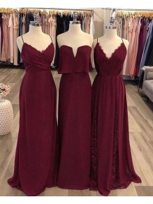 Affordable Long Floor Length Bridesmaid Dresses 99601456