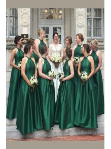 A-Line Floor Length Bridesmaid Dresses 99601458