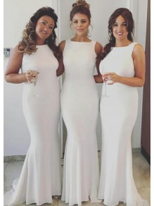 Mermaid Long Floor Length Bridesmaid Dresses 99601473