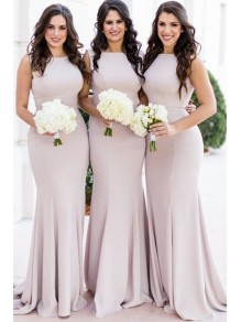 Mermaid Long Floor Length Bridesmaid Dresses 99601489
