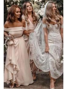 Affordable Long Floor Length Bridesmaid Dresses 99601493