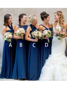 A-Line Long Floor Length Bridesmaid Dresses 99601513