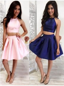 Two Pieces Short Prom Evening Cocktail Homecoming Dresses 99602116
