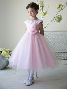 Cute Pink Flower Girl Dresses 99604005