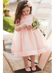 Pink Flower Girl Dresses 99604009
