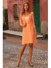 Short Lace Mother of The Bride and Groom Dresses 99605055