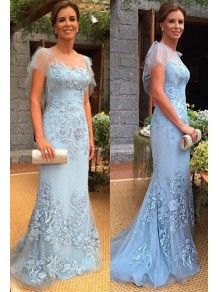 Elegant Mermaid Long Lace Mother of The Bride Dresses 99605115