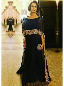 Elegant Long Mother of The Bride Dresses with Lace Appliques 99605123
