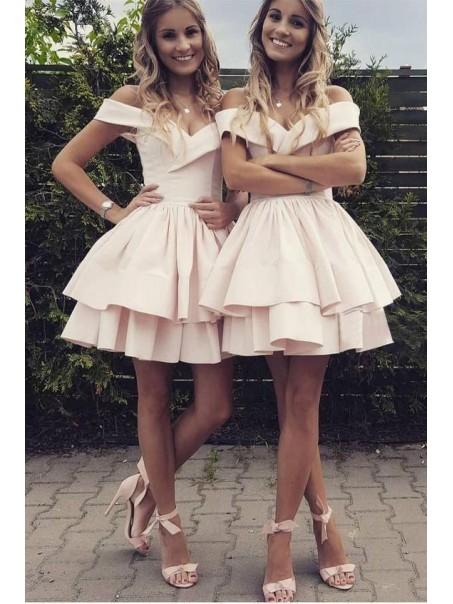A-Line Short Prom Dress Homecoming Dresses Graduation Party Dresses 99701002