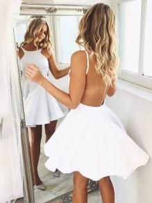 Short/Mini Backless Prom Dress Homecoming Dresses Graduation Party Dresses 99701003