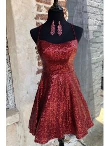 Short Sequins Prom Dress Homecoming Dresses Graduation Party Dresses 99701022