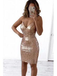 Short Sequins Prom Dress Homecoming Dresses Graduation Party Dresses 99701031