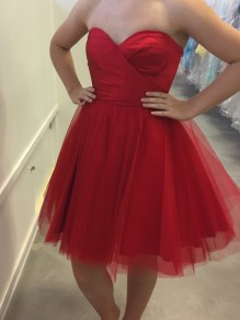 Short Red Prom Dress Homecoming Dresses Graduation Party Dresses 99701035