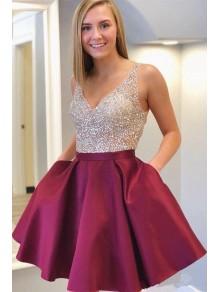 Short Beaded Prom Dress Homecoming Dresses Graduation Party Dresses 99701041