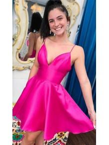 Short V-Neck Prom Dress Homecoming Dresses Graduation Party Dresses 99701046