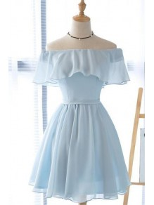 Short Chiffon Prom Dress Homecoming Dresses Graduation Party Dresses 99701052