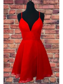 Short Red Prom Dress Homecoming Dresses Graduation Party Dresses 99701059