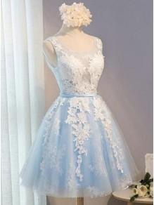 Short Lace Prom Dress Homecoming Dresses Graduation Party Dresses 99701064