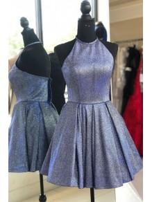 Short Sparkle Halter Prom Dress Homecoming Graduation Cocktail Dresses 99701114