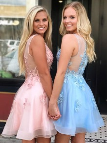 Short Beaded Lace Prom Dress Homecoming Graduation Cocktail Dresses 99701131