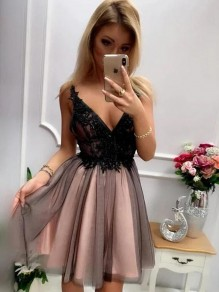 Short Lace Prom Dress Homecoming Graduation Cocktail Dresses 99701137