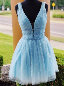 Short Beaded Prom Dress Homecoming Graduation Cocktail Dresses 99701141