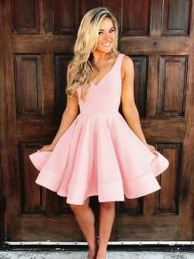 Short Pink Prom Dress Homecoming Graduation Cocktail Dresses 99701142