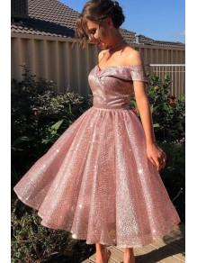 A-Line Sparkle Prom Dress Homecoming Graduation Cocktail Dresses 99701154