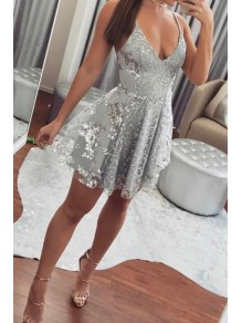 Short/Mini Lace Prom Dress Homecoming Graduation Cocktail Dresses 99701155